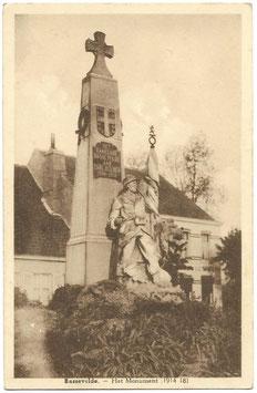 Bassevelde - Het Monument (1914 18)