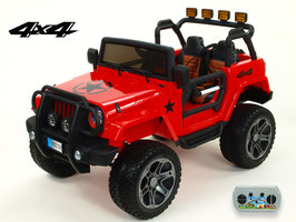 Jeep Wrangler 4WD - rot