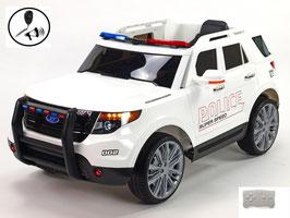 Polizei Geländewagen - weiß
