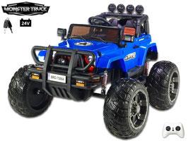 Wrangler Monster Truck 1-Sitzer 24V - blau