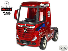 Mercedes Actros - weinrot lackiert