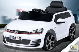 VW Golf GTI - Weiß - Fun KidCars - Elektroauto