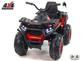 X-Men 900 4x4 4WD Allrad Kinder Elektroquad - rot