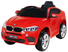 BMW X6M 2018 1 Sitzer Kinder Elektroauto - rot