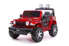 Jeep Wrangler Rubicon 2-Sitzer 4x4 - weinrot lackiert