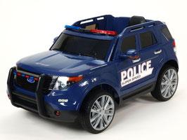 Polizei Geländewagen - blau