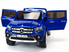 Mercedes X-Class 2-Sitzer - blau