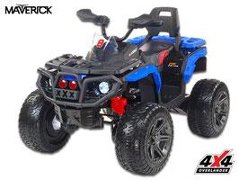 Maverick 4x4 ATV Kinder Elektroquad - blau