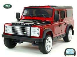 Land Rover Defender - weinrot lackiert