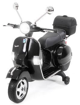 Vespa Roller PX150 Kinder Elektroroller - schwarz