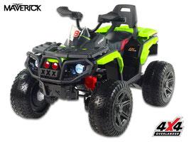 Maverick 4x4 ATV Kinder Elektroquad - neongrün