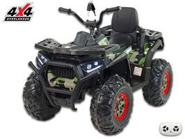 X-Men 900 4x4 4WD Allrad Kinder Elektroquad - Dschungle Army
