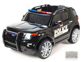 Polizei Geländewagen - schwarz