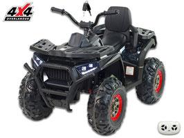 X-Men 900 4x4 4WD Allrad Kinder Elektroquad - Carbon schwarz