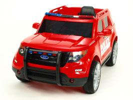 Polizei Geländewagen - rot