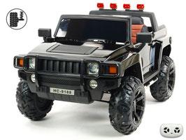 Simba HC-9188 2-Sitzer - schwarz lackiert