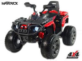 Maverick 4x4 ATV Kinder Elektroquad - rot