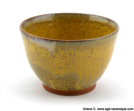 Petit bol jaune/ small yellow bowl