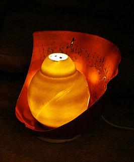 """Sculpture luminaire """"éclosion 2"""""""