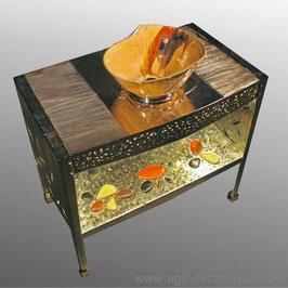 """""""Lotus"""": meuble complet avec lavabo"""