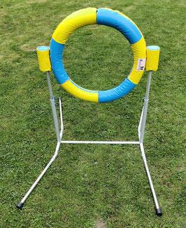 "Klappbarer Agility Reifen für Hundesport, orig. Callieway® ""Bounce-O-Tyre Safetysoft"""