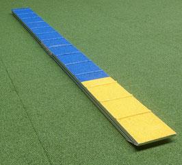 Profi ALU Zonenboard (2-teilig)  / FCI Standard Stegabgangslänge für Agility Runnings Training