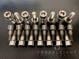 Mitnehmerbolzen aus Titan für Kettenradträger BMW HP Aluminium Schmiedefelgen und Carbon Felgen
