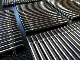 Motorstehbolzen aus Titan für Aprilia RSV4 / Tuono V4