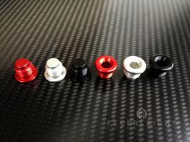 Aluminium Blindstopfen für Zylinderköpfe (Kipphebelwelle) und Motorgehäuse - Ducati 848 1098 1198 1199 1299