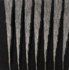 Relief grijs in zwart I