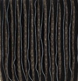 Relief Pinstripe taupe/zwart