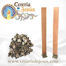 Pabilo de madera básico 13x130 mm