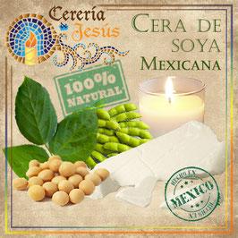 Cera de soya mexicana