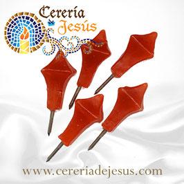 Clavos de cera para Cirio Pascual