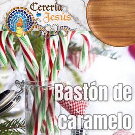 Bastón de caramelo de Santa