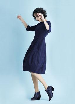 Fox´s Kleid Henirobo Patch Blau