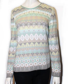 Dunque Pullover Jacquard Mint