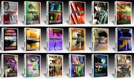 26 DVD (SCONTO -20% RISPARMIO € 52,00 - Scoprire e utilizzare Photoshop - Raccolta Completa