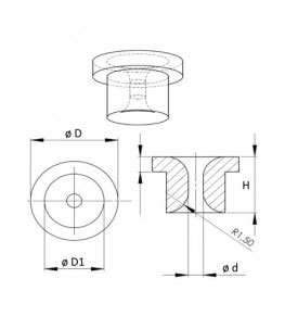 Metal Nozzle, Metalldüse  (picture not available yet)