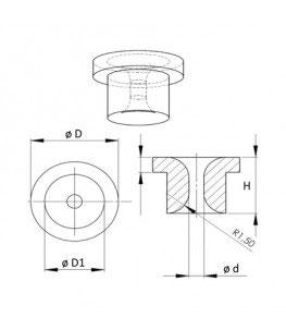 Metal Nozzle Clip, Metalldüsenhalter