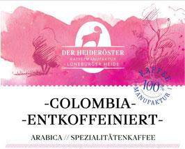 "COLOMBIA ""SUGAR CANE"" // ENTKOFFEINIERT"
