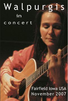 Walpurgis In Concert, DVD