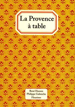 La Provence à table