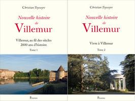 Nouvelle histoire de Villemur (Tome1 +Tome 2)