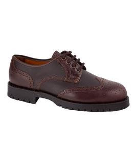 Zapato caza pala vega castaña