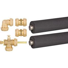 Röhrenkollektoren Anschluss- und Verbindungs-Set