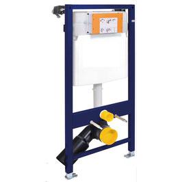 Wand-WC-Element, 1180 mm inkl. Wandhalter, mit Betätigungsplatte (mit Geberit kombinierbar)