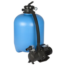 Midas Sandfilteranlage ECO 400M 6 m³/h mit Umwälzpumpe SPS 100-1 MM400