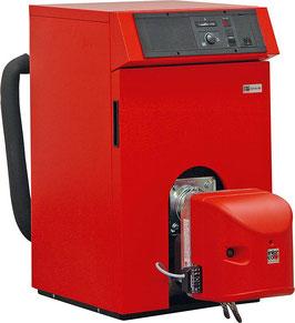 GUSS Öl-Brennwertkessel RATIOLINE BW, 12 bis 25 kW mit nachgeschaltetem Wärmetauscher