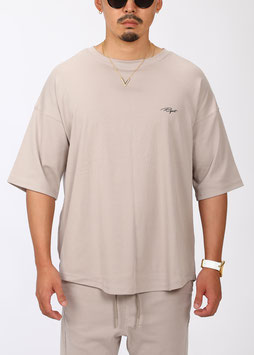 FRM Over Size Tee [Light Beige]